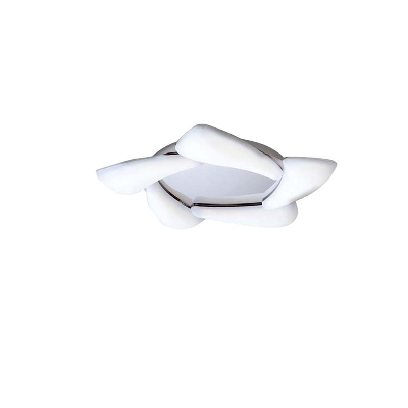 Mistral Ceiling 30W LED 3000K, 2700lm, Polished Chrome/Frosted Acrylic