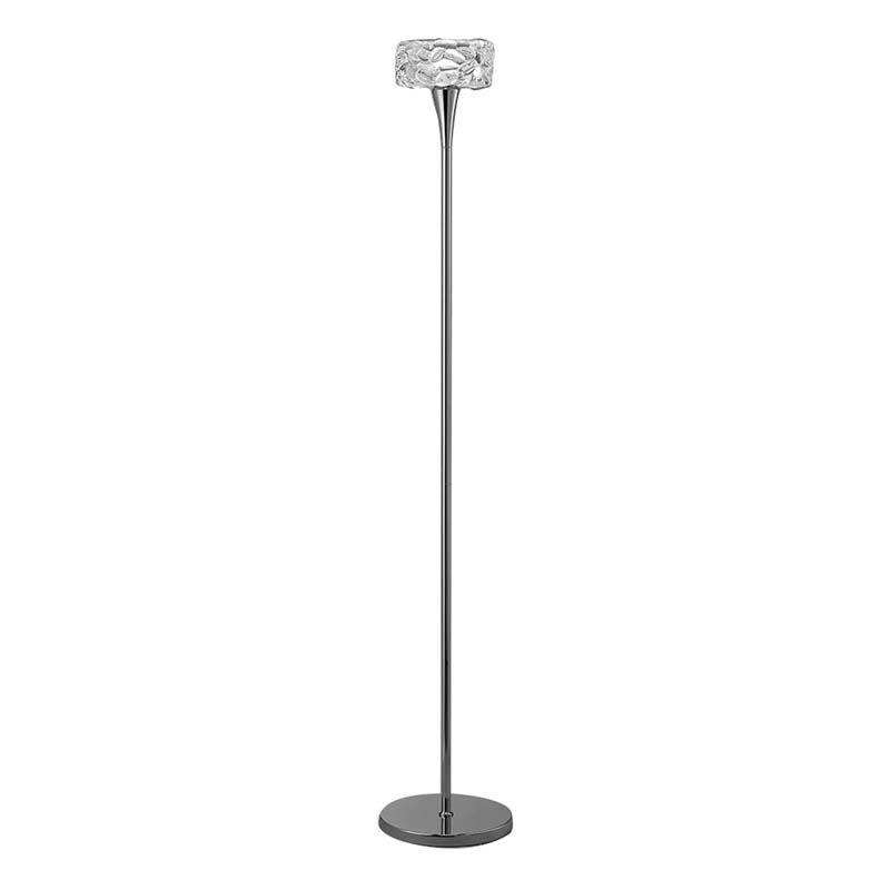 Mantra M3939 O2 Floor Lamp 1 Light E27, Polished Chrome