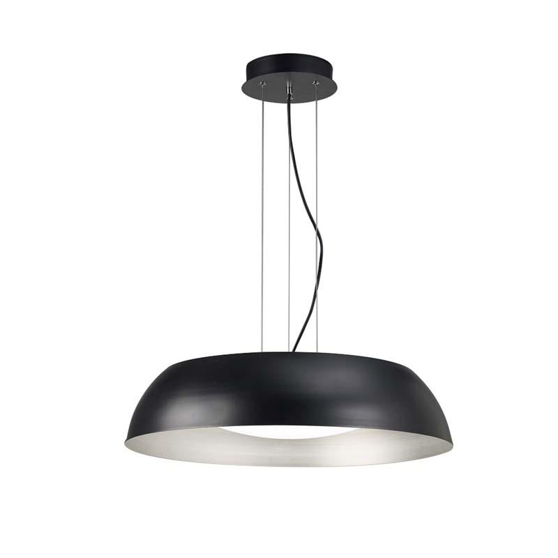Argenta Pendant Large 30W LED 3000K, 3000lm, Matt Black/Silver/White Acrylic