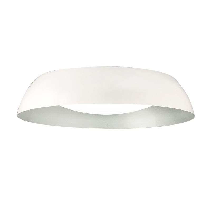 Argenta Ceiling Large 30W LED 3000K, 3000lm, Matt White/Silver/White Acrylic