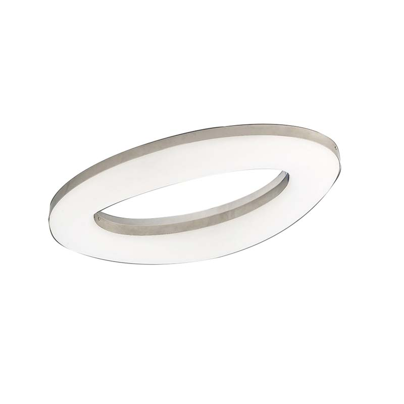Oakley Ceiling 40W LED 3000K, 3200lm, Polished Chrome/Frosted Acrylic
