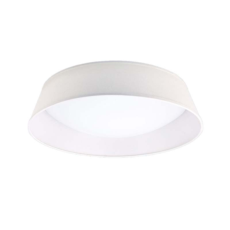 Nordica Ceiling 30W LED 60CM Off White, White Acrylic With Ivory White Shade