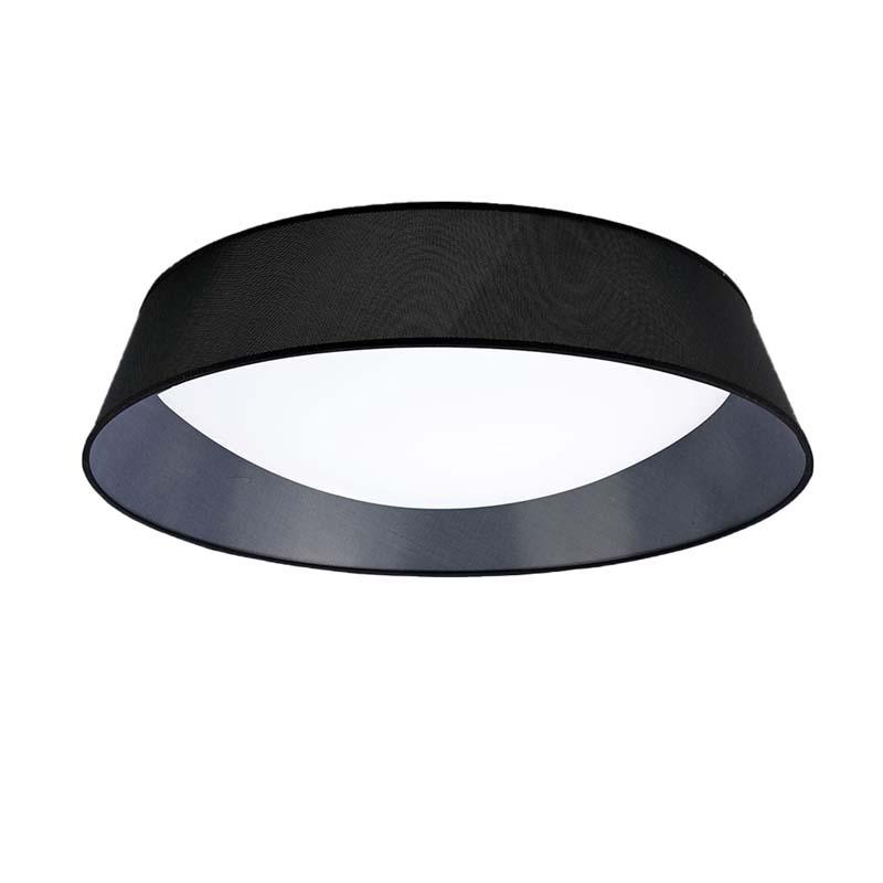 Nordica Ceiling 60W LED 90cm Black 3000K, White Acrylic With Black Shade