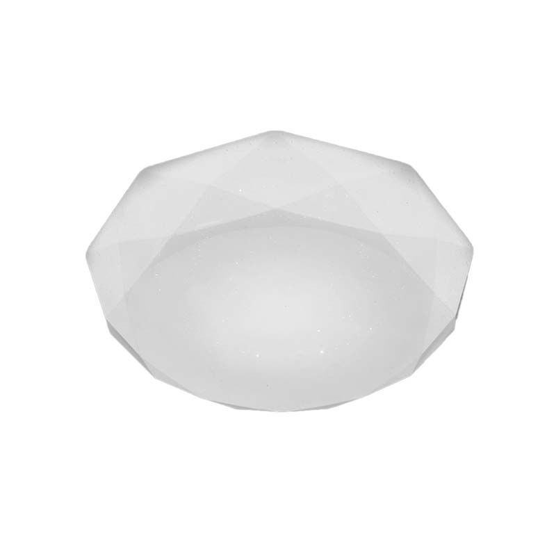 Diamante Ceiling 30W LED 3000K, 3000lm, White Acrylic, 3yrs Warranty