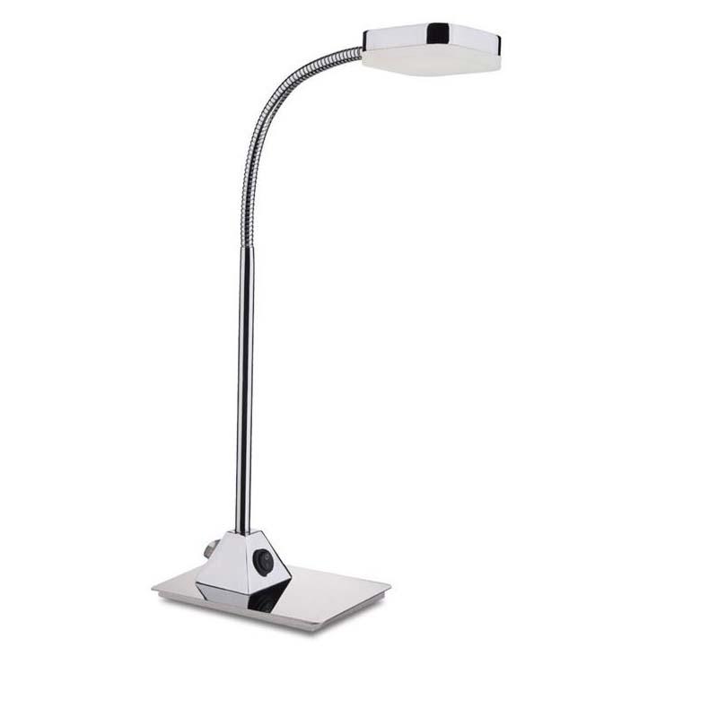 Gio LED Chrome Table Lamp