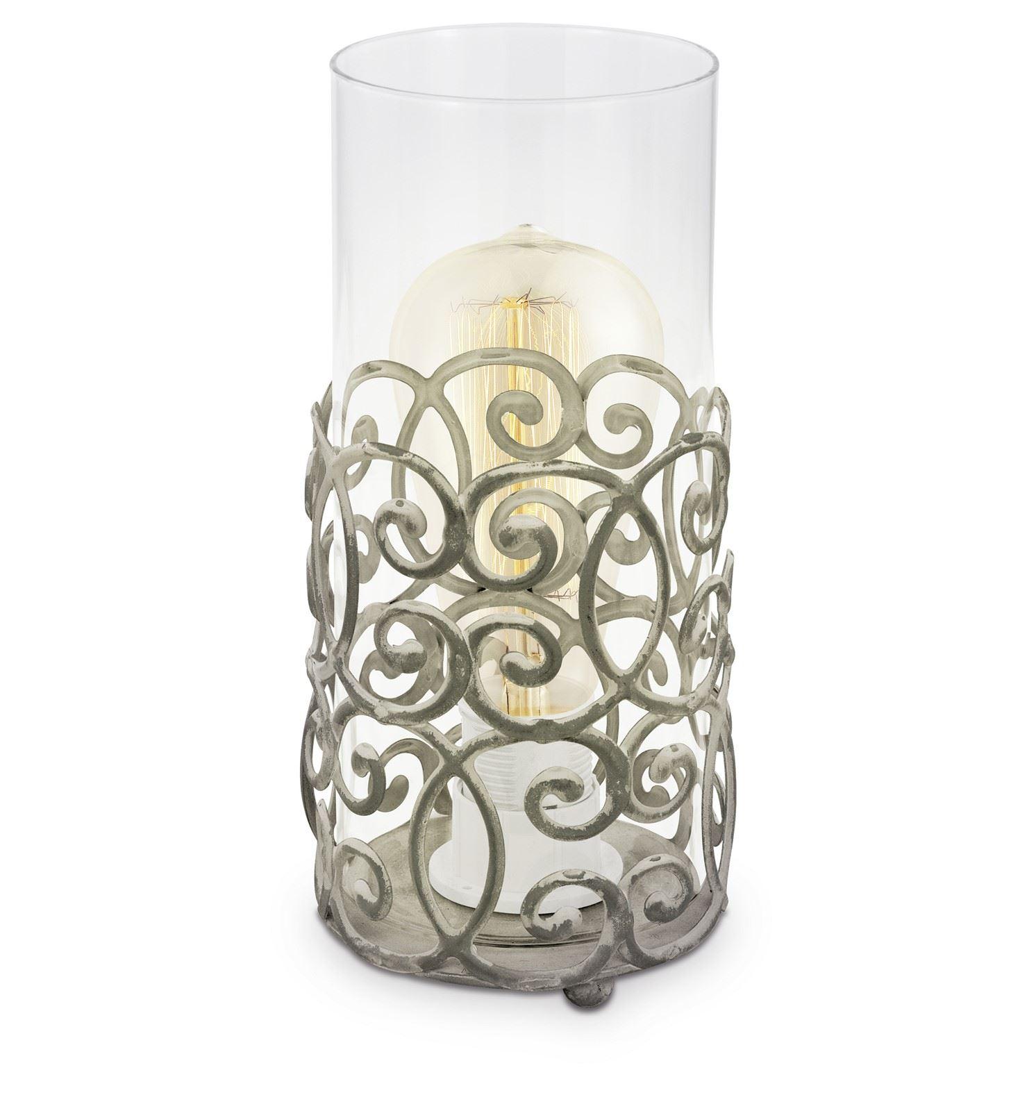 Cardigan Stunning Design Table Lamp 1 Light E27 Brown Patina Finish