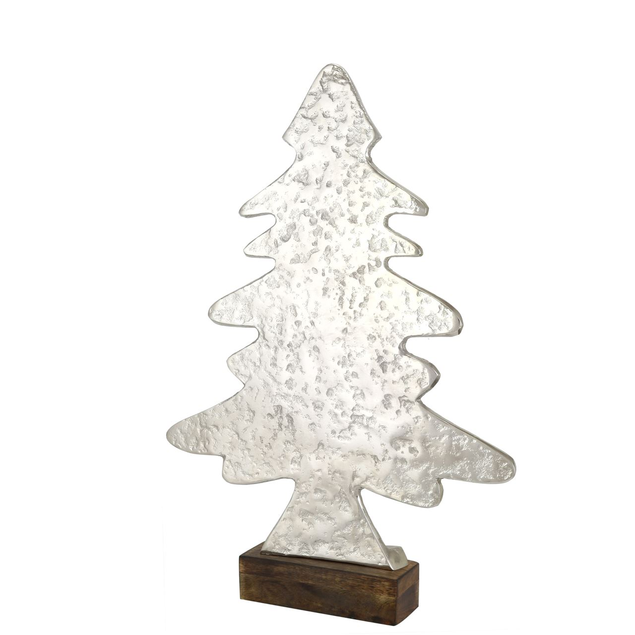 Medium Hammered Christmas Tree Ornament