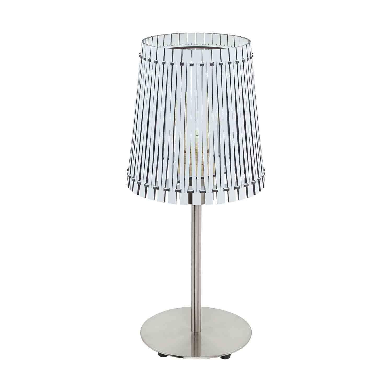 Sendero Modern Style Table Lamp 1 Light E27 In-Line Switch