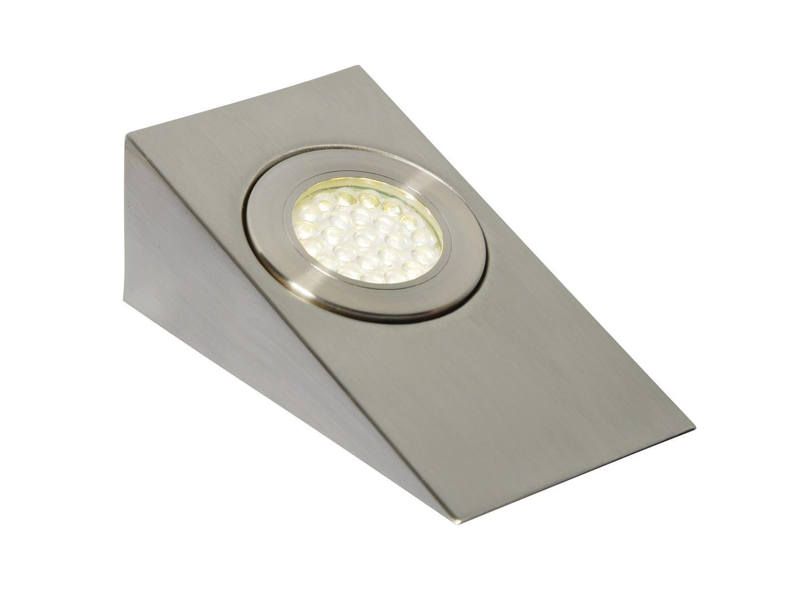 Lago Led, Mains Voltage, Wedge Cabinet Light, 3000K Warm White