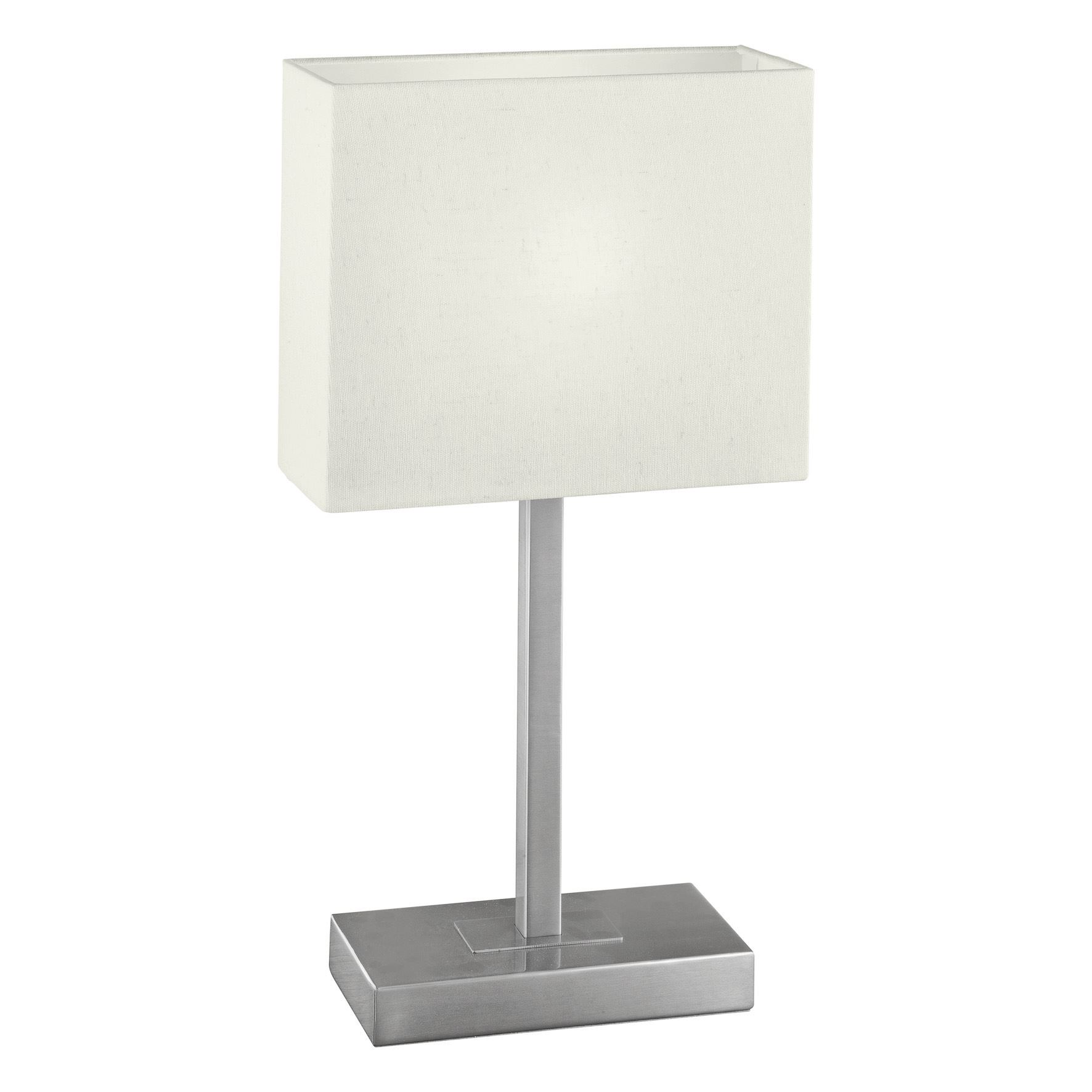 Pueblo 1 Table Lamp 1 Light Touchdimmer Switch Fabric Beige Shade