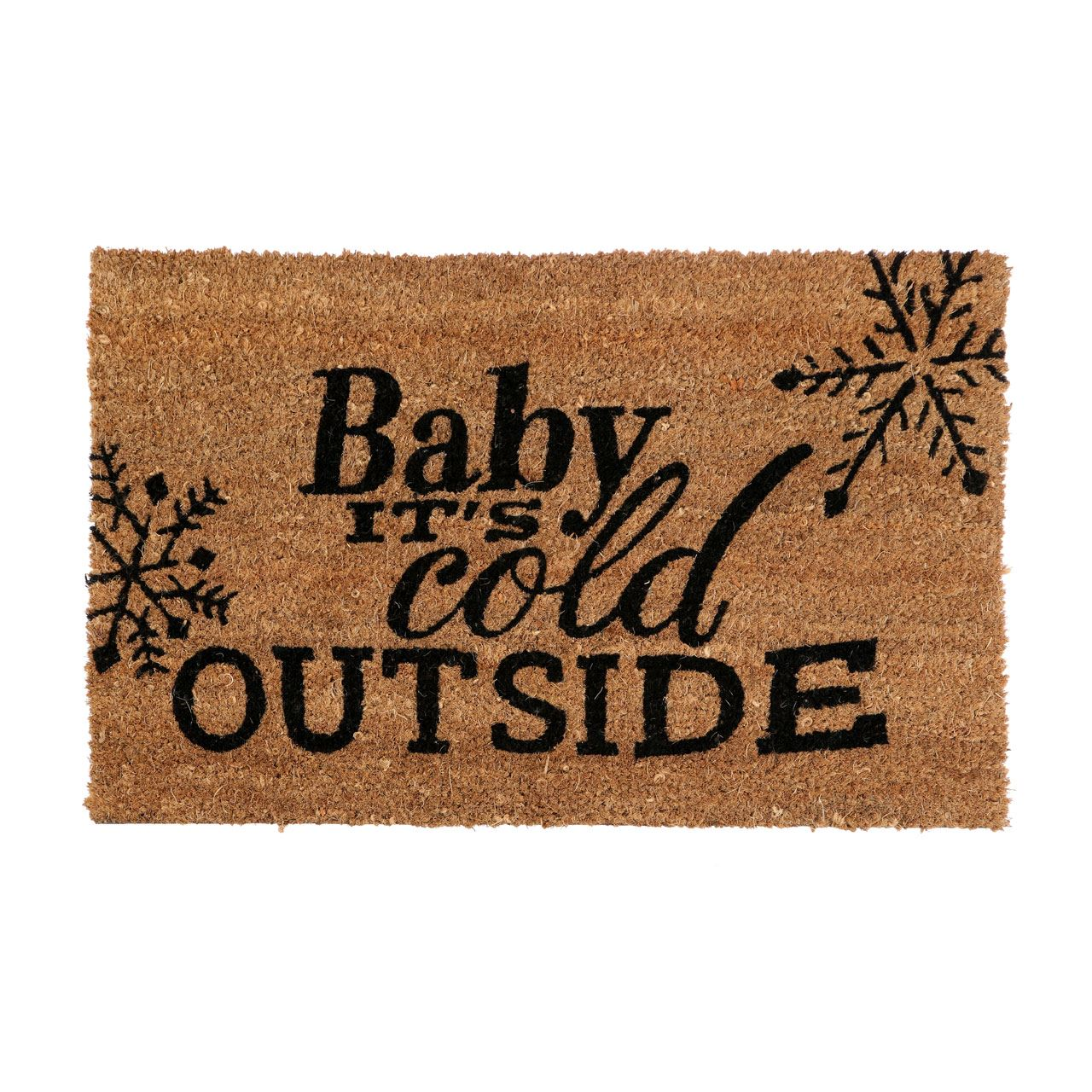 Cold Outside Doormat,Pvc Backed Coir