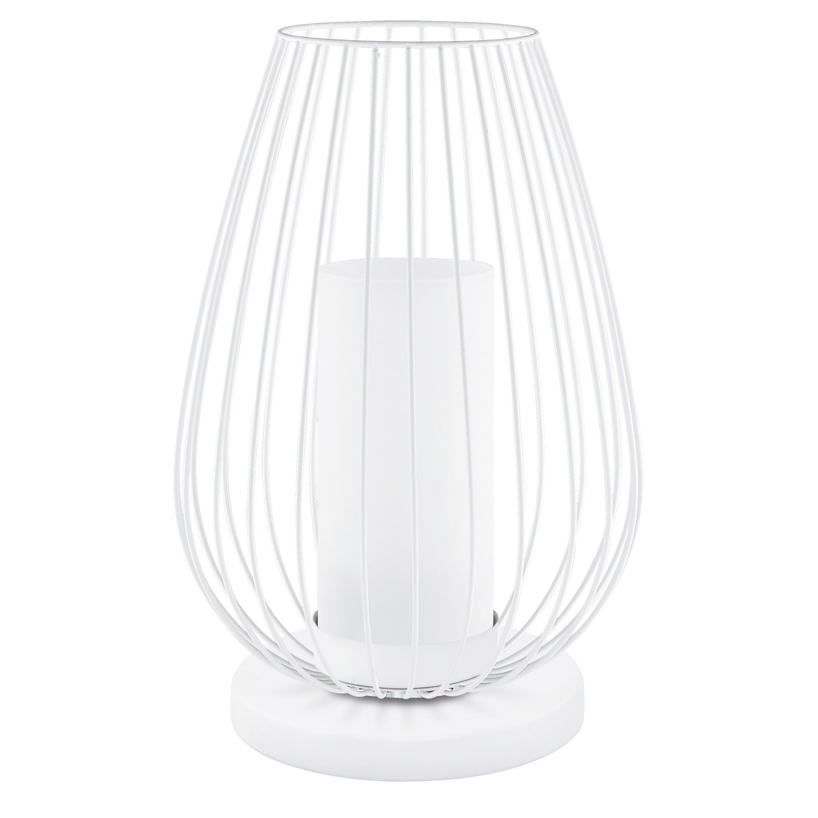 Vencino Modern Led-Table Lamp 1 Light Satinated Glass Shade