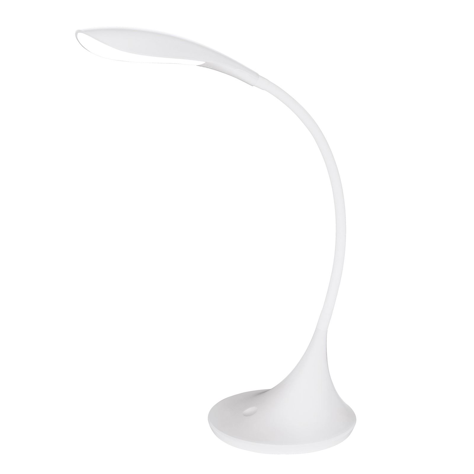 Dambera Led Plastic White Table Lamp Touchdimmer 5 Years Warranty