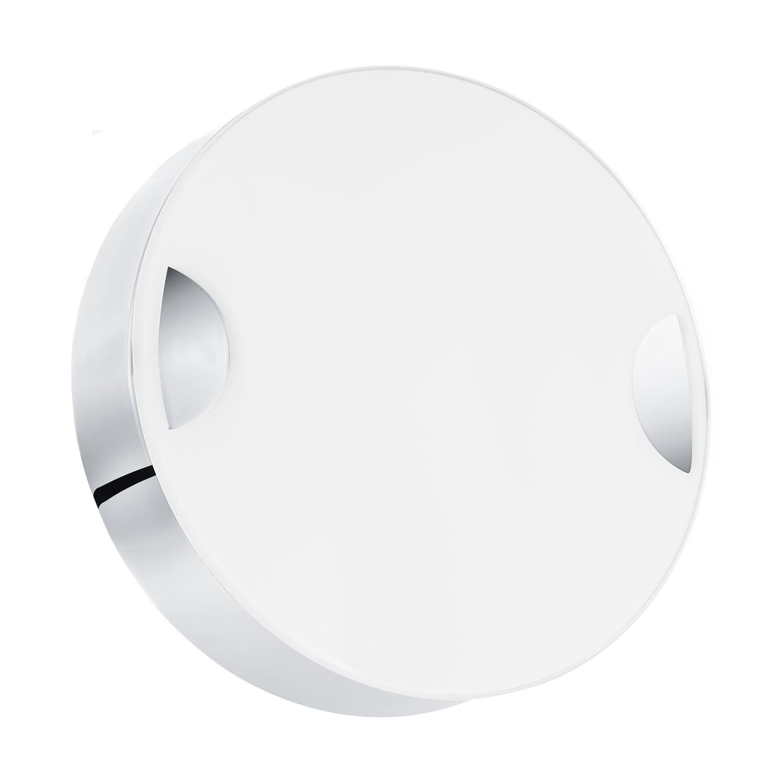 Cupella Stylish LED Ceiling Light Steel Chrome White
