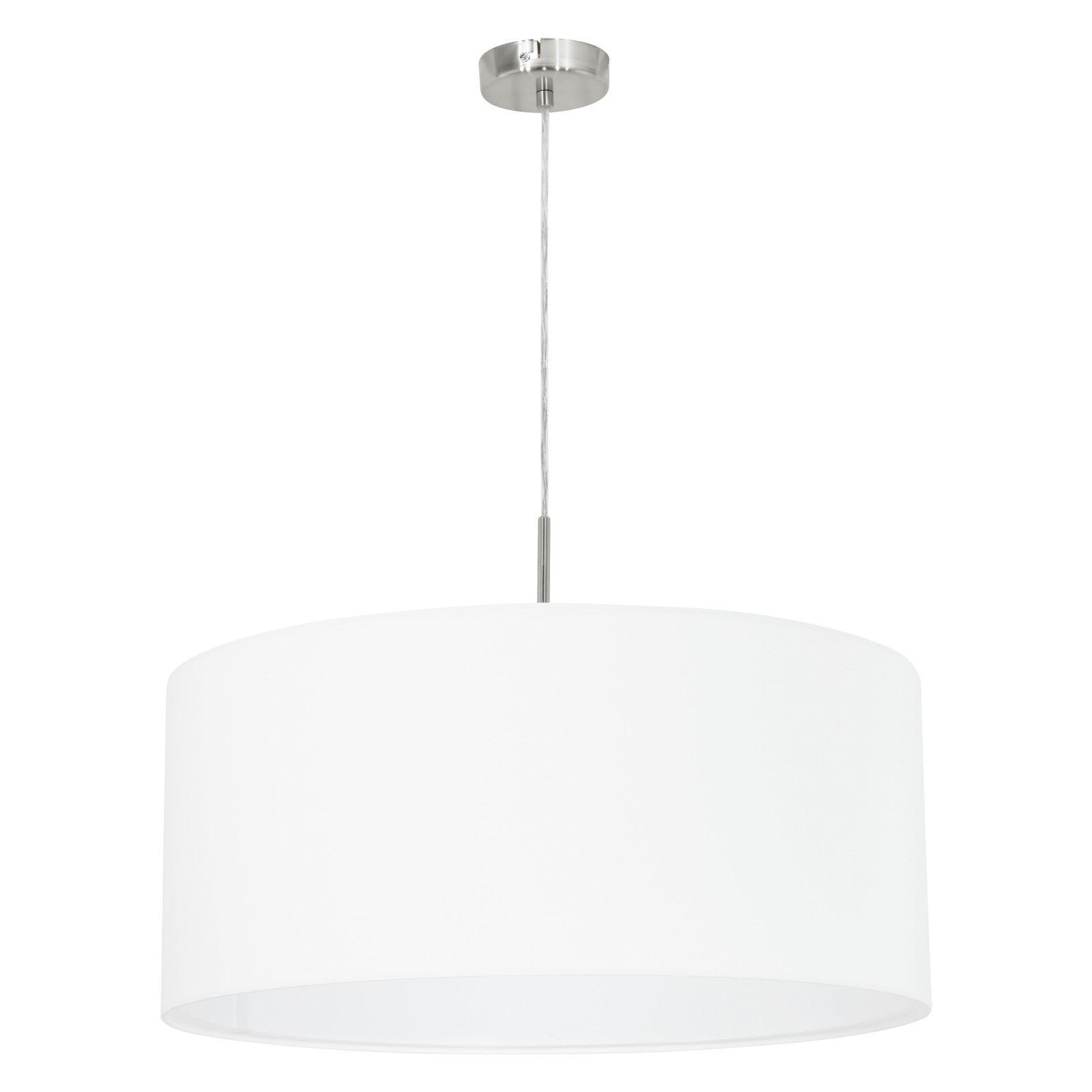 Pasteri Hanging Pendant Light Pendant Lamp Fabric Matt White Shade