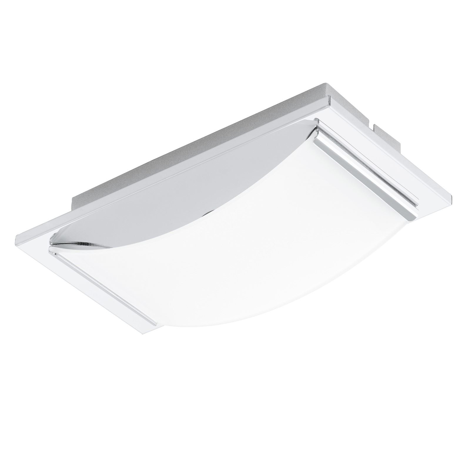 Wasao LED Wall Light/Ceiling Light 1x 5.4W Stainless Steel Chrome White
