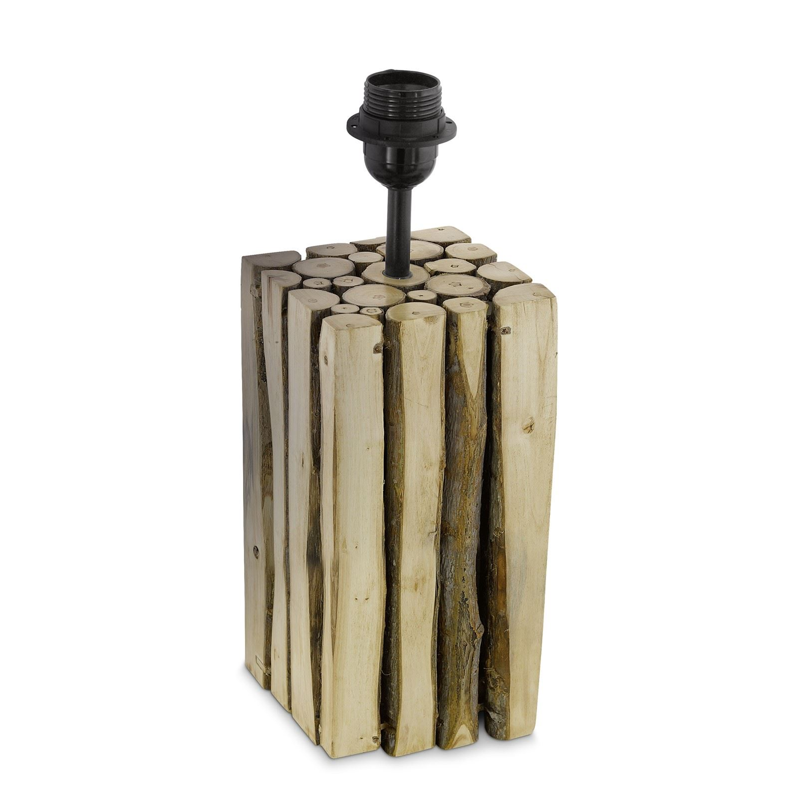 Ribadeo Wood Brown Table Lamp