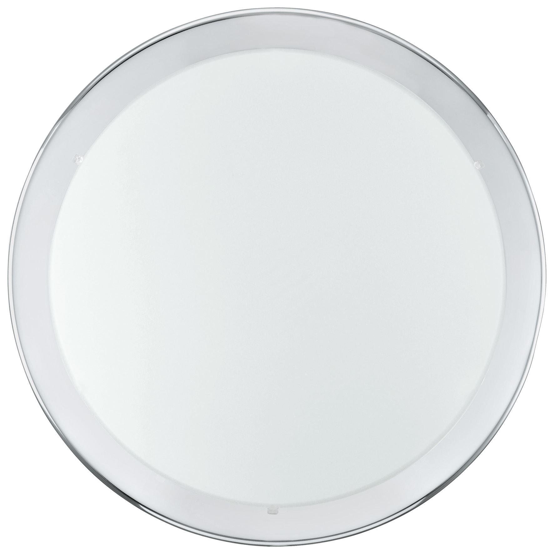 Planet Ceiling Light 2X E27 Steel Chrome White Clear