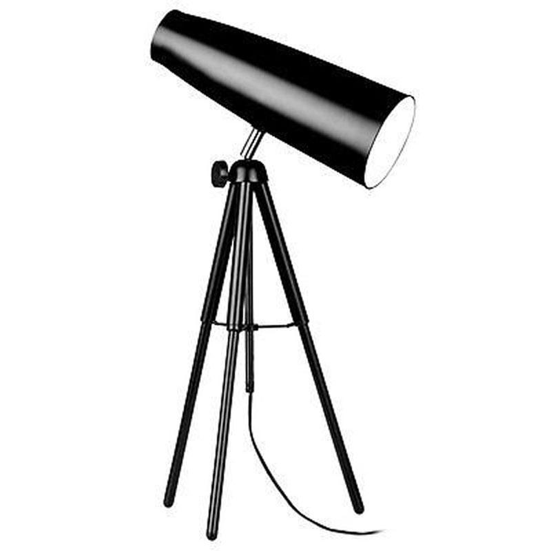 Striking Spot Table Lamp Black Tripod Base - Distinctive Design