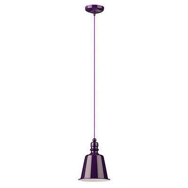 Pagoda Pendant Light, Purple