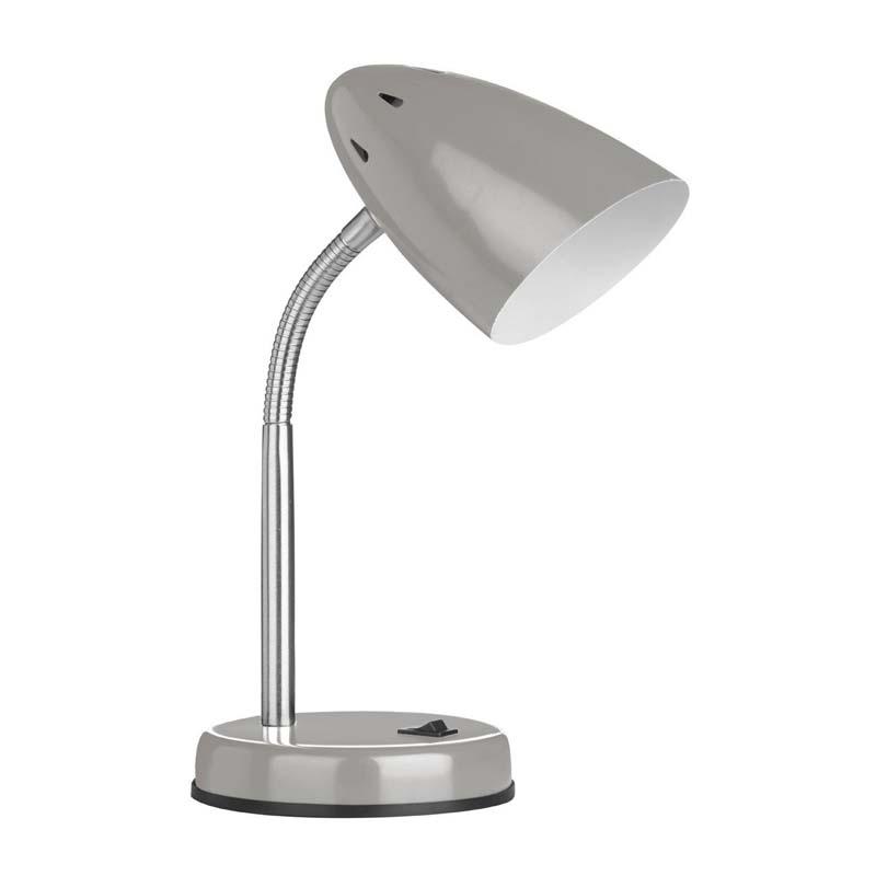 Desk Lamp, Flexi, Grey