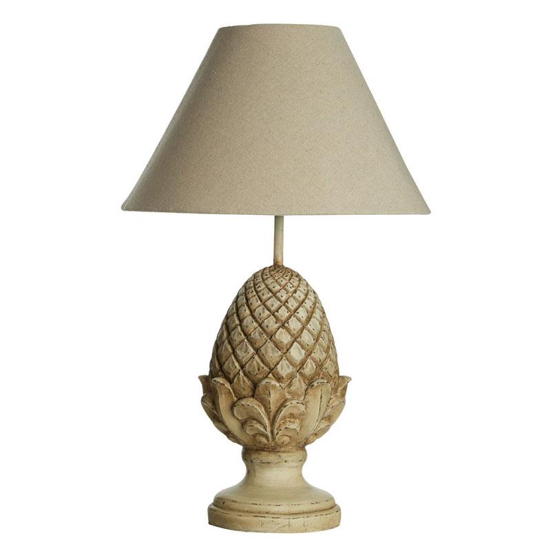 Acorn Table Lamp, Metal/Resin