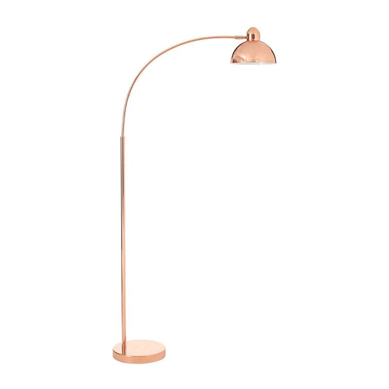 Calle Floor Lamp, Copper