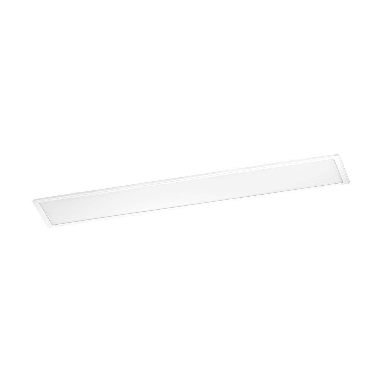 Salobrena Led Grid Light Length 1200mm Aluminium Plastic White Shade