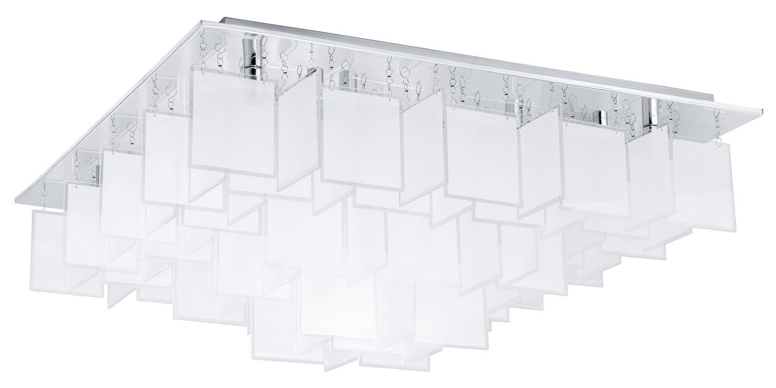 Condrada Ceiling Light 16 Light G9 Chrome Satinated Clear
