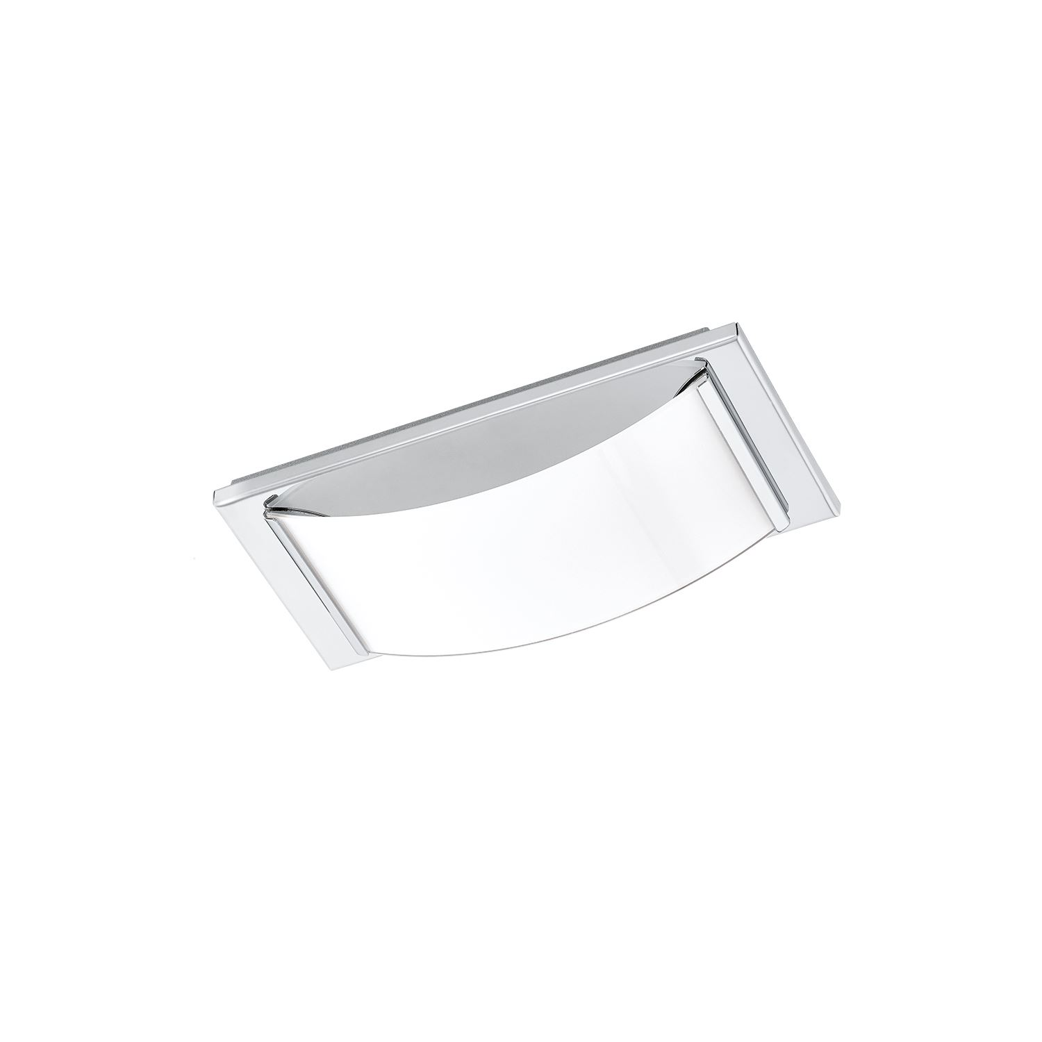 Wasao LED Wall/Ceiling Light 1x 5,4W Stainless Steel Chrome