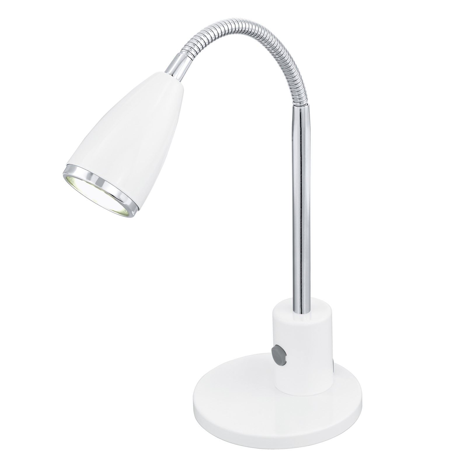 Fox Stylish Table Lamp 1 Light Gu10-Led With Rocker Switch