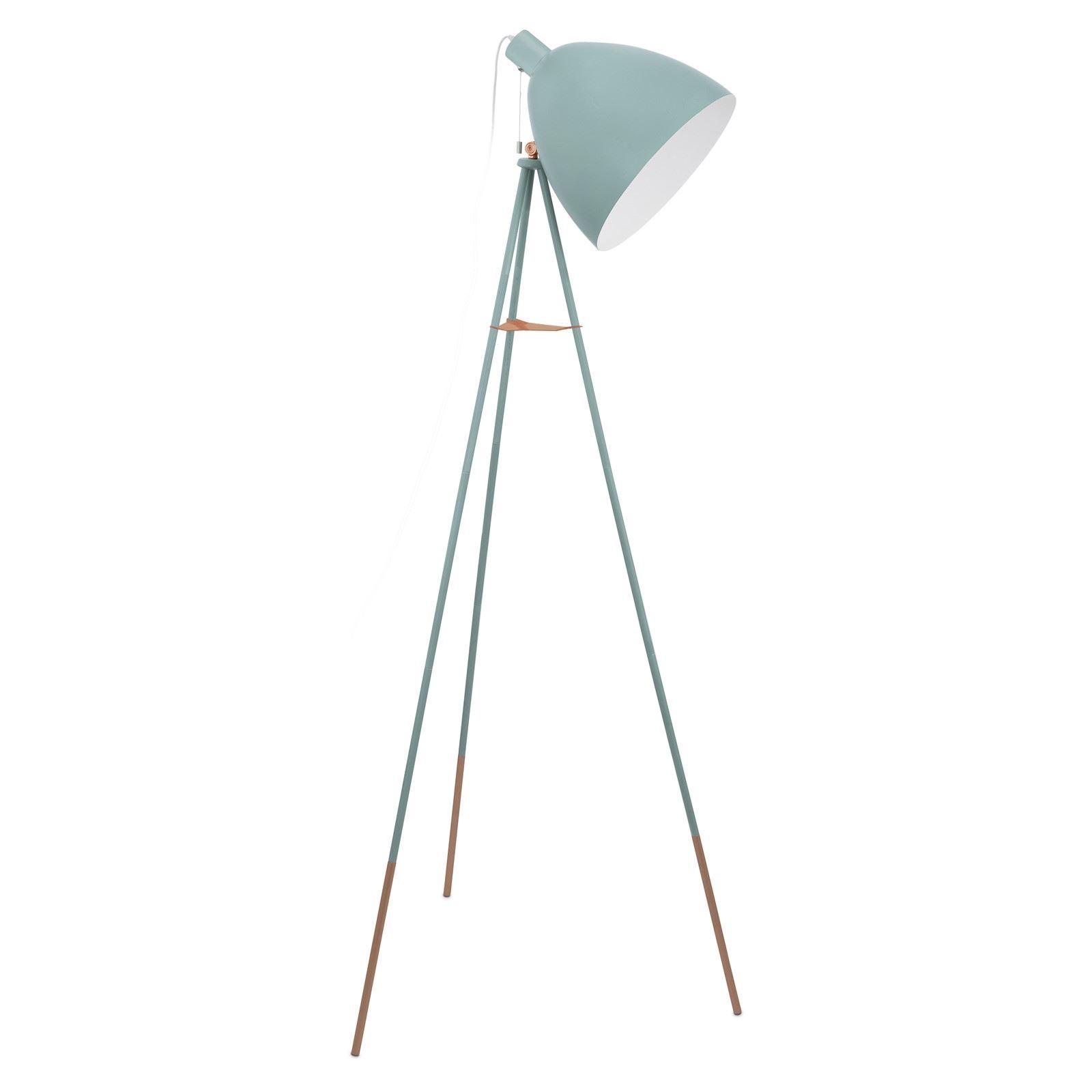 Dundee Floor Lamp Steel 1 Light E27 Mint - Modern Style Light Decor