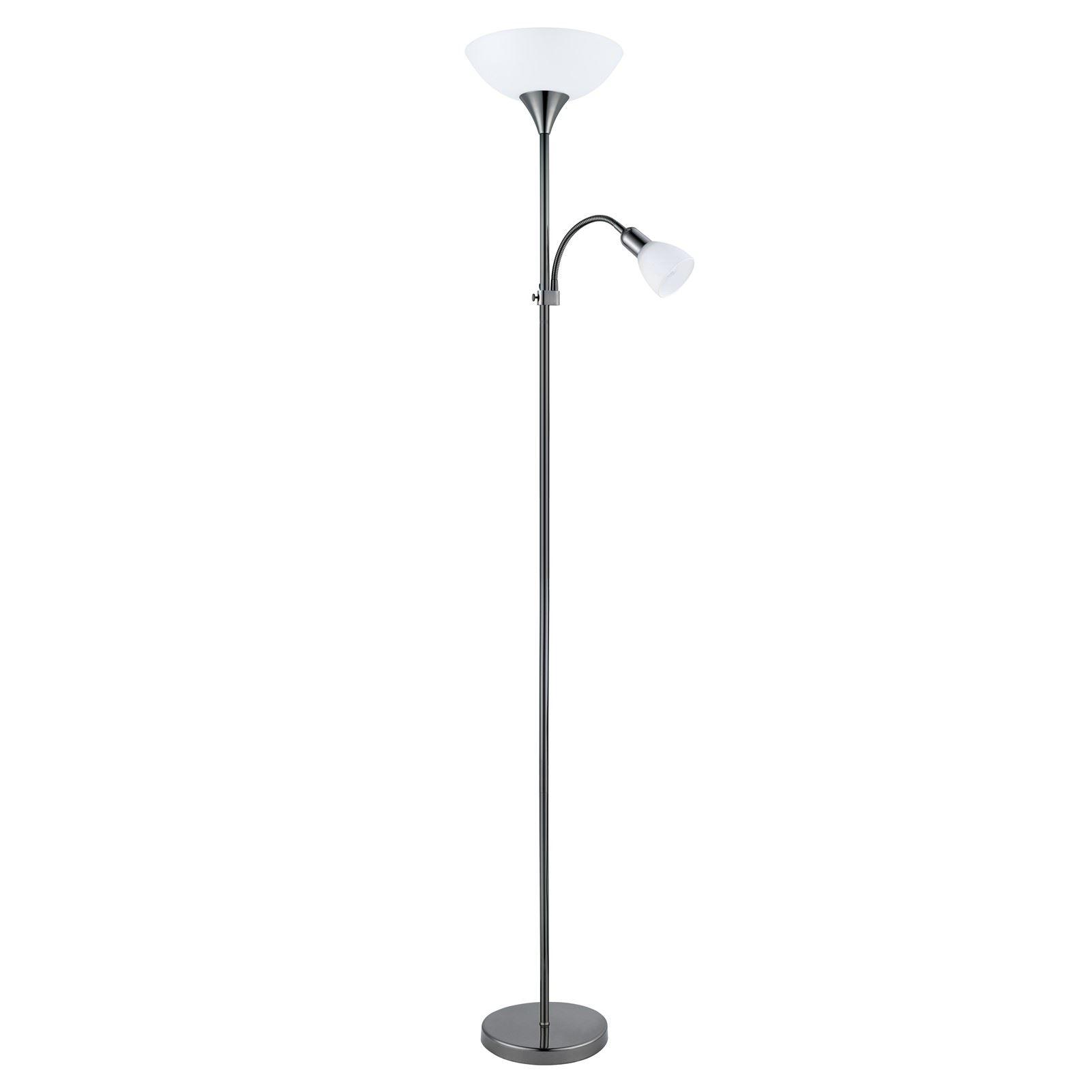 Up Modern Floor Lamp 1 Working Reading Lamp Black Chrome