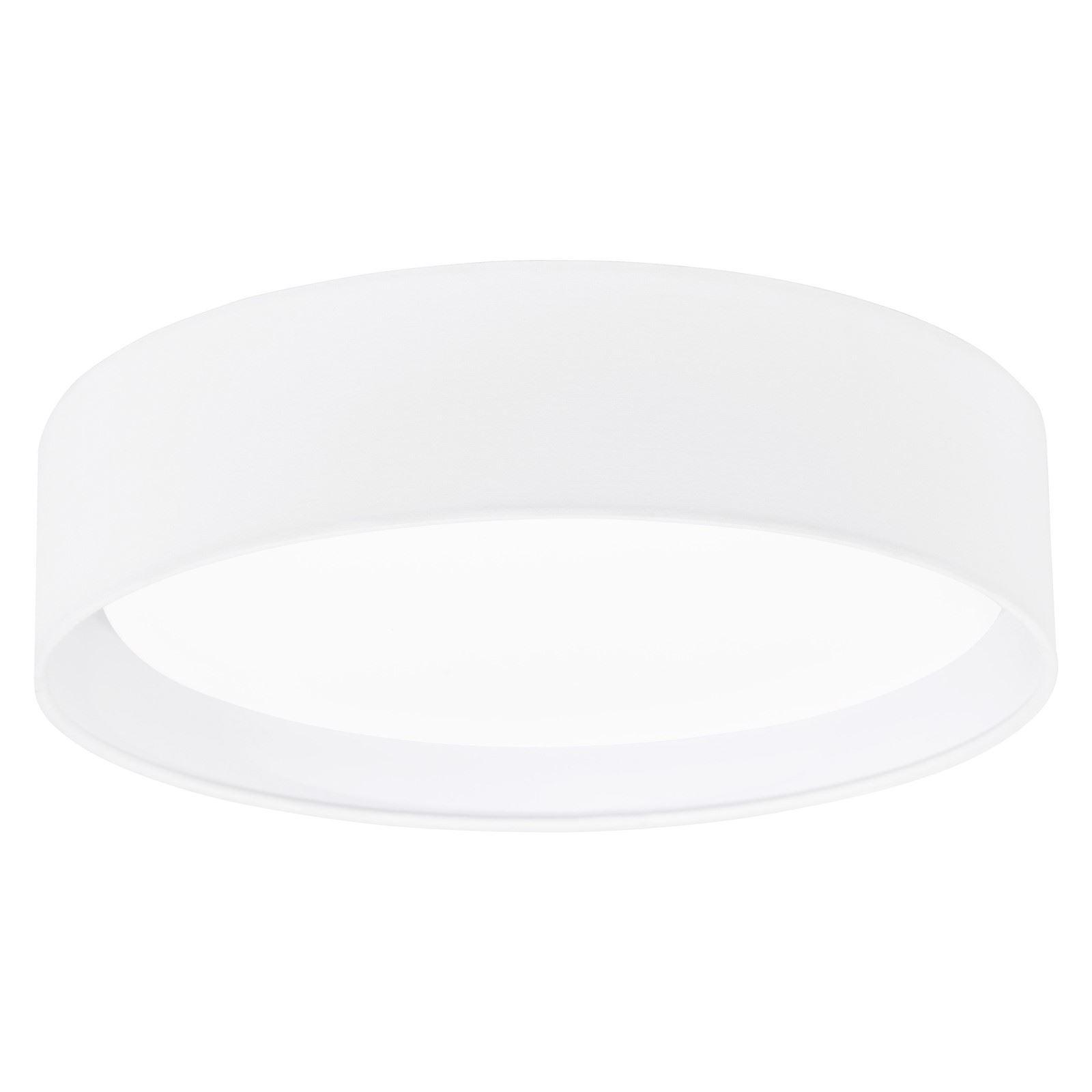 PASTERI LED Modern Ceiling Light Plastic Steel Fabric White Shade