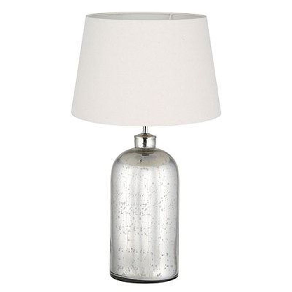 Decorative Table Lamp Stunning Mercury Mirrored Glass Base