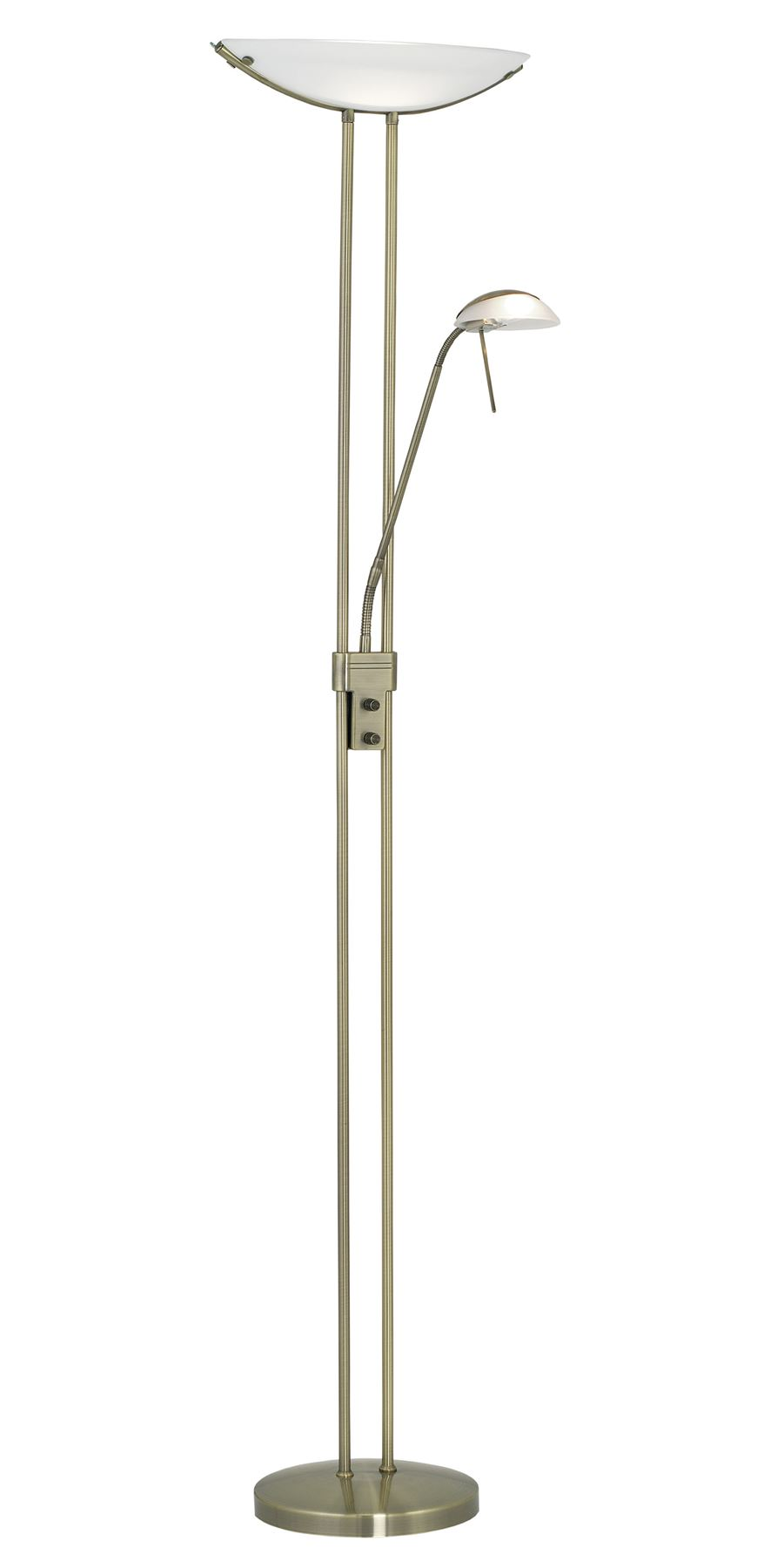Baya Floor Light Working Reading Lamp Bronze