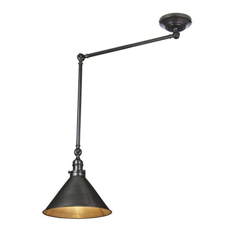 Provence 1 Light Floor Lamp - Old Bronze