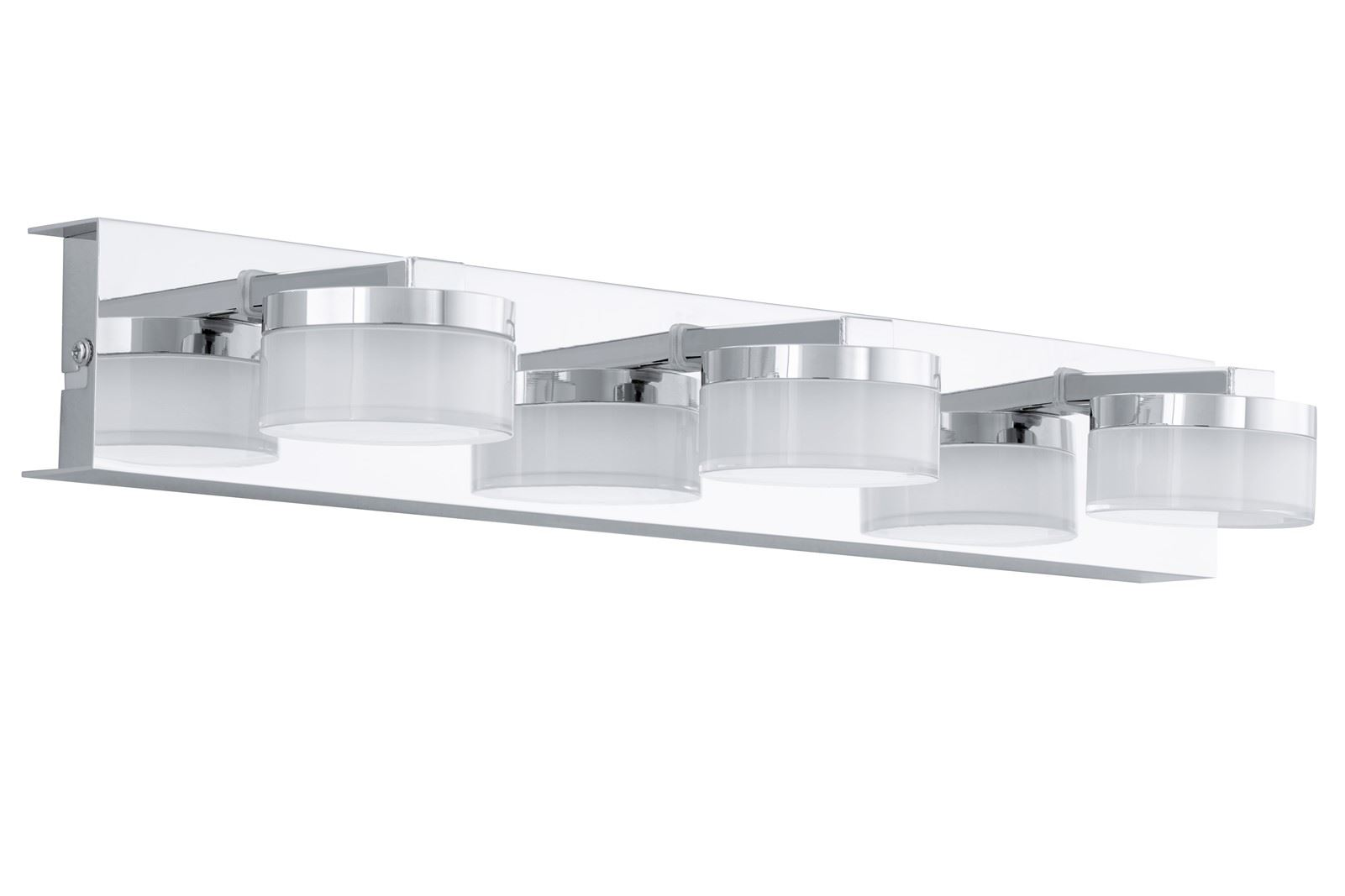 Romendo Led Wall Light 3X 4.5W Steel Chrome Finish