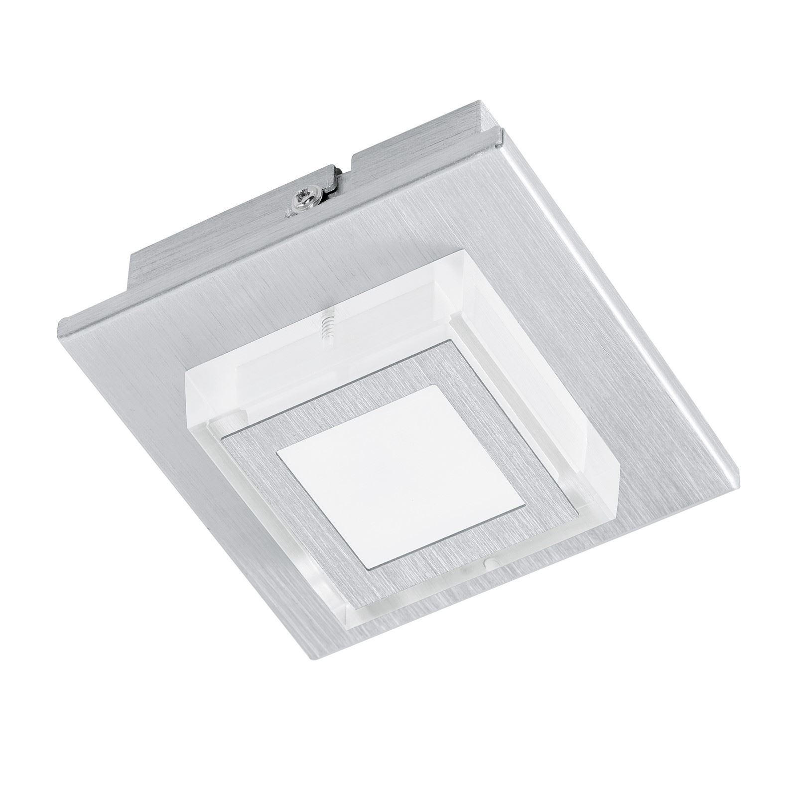 Masiano LED Ceiling/Wall Light Aluminium Brushed Satin