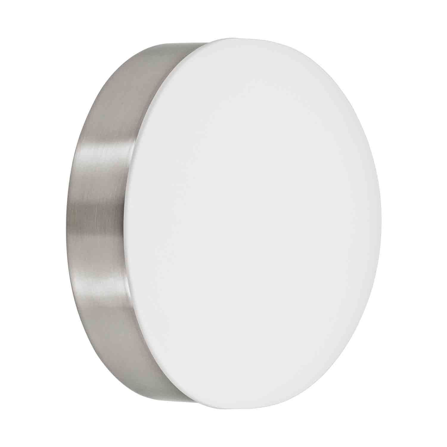Cupella Led Ceiling Wall Light Satinated Glass White Shade