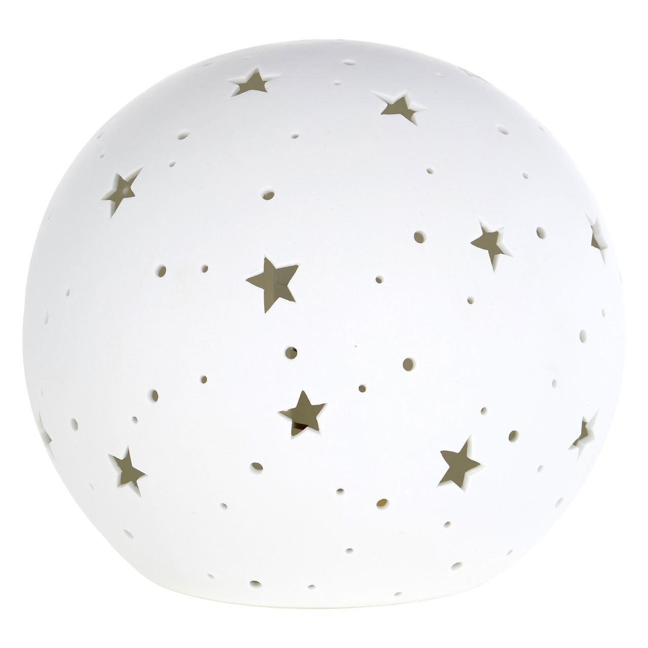 Kids Orb Night Light, Ceramic, White