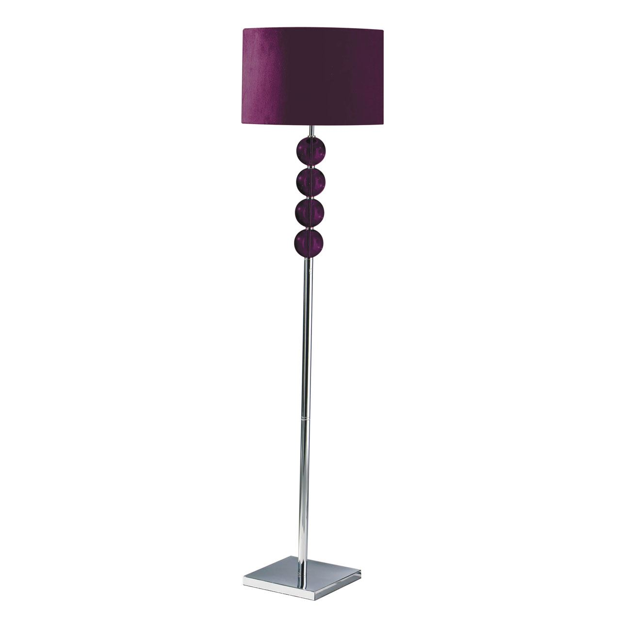 Floor Lamp, Purple