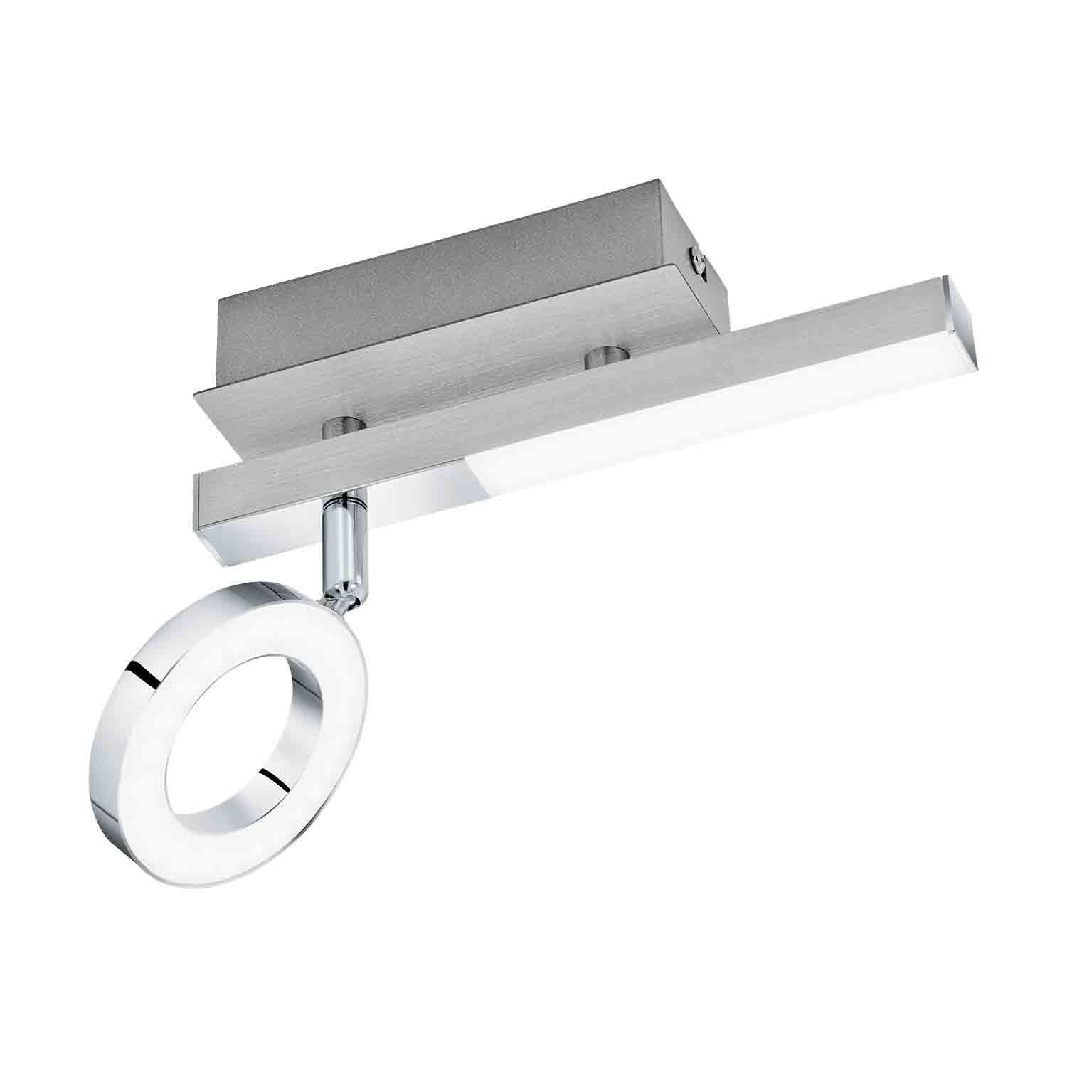 Cardillio Wall Light Aluminium Chrome 1 Light