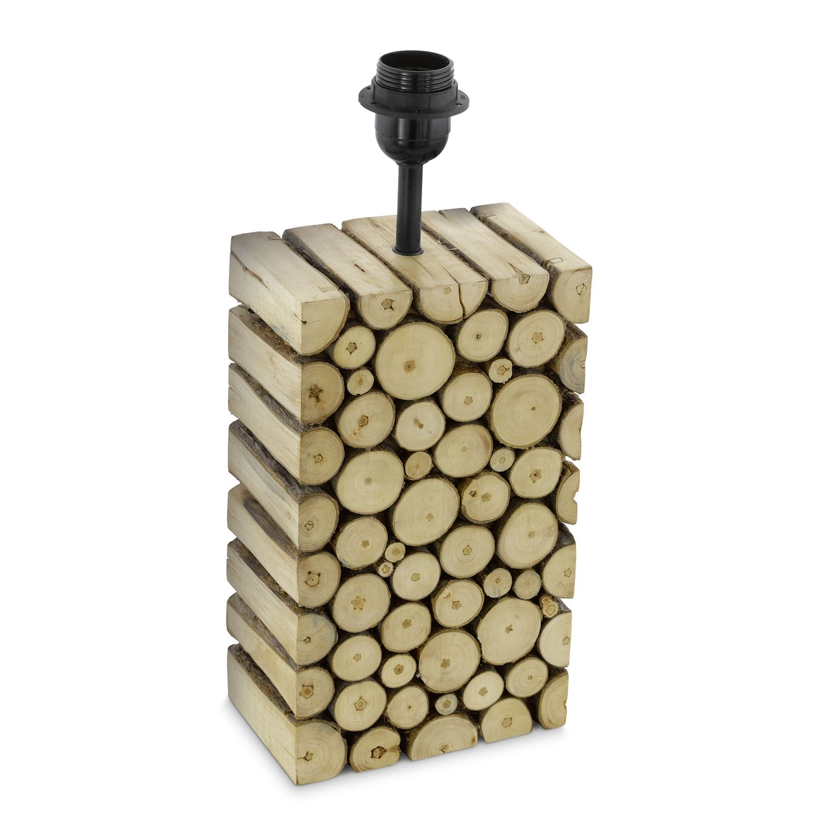 Ribadeo Wood Table Lamp base 1 Light