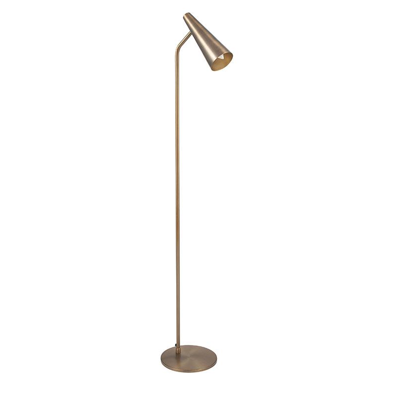 Antique Brass Task Floor Lamp