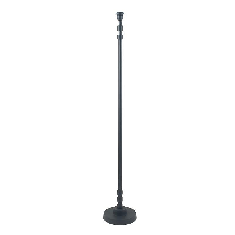 Matt Black Stick Floor Lamp Base