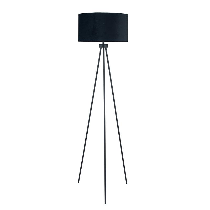 Matt Black Tripod Floor Lamp