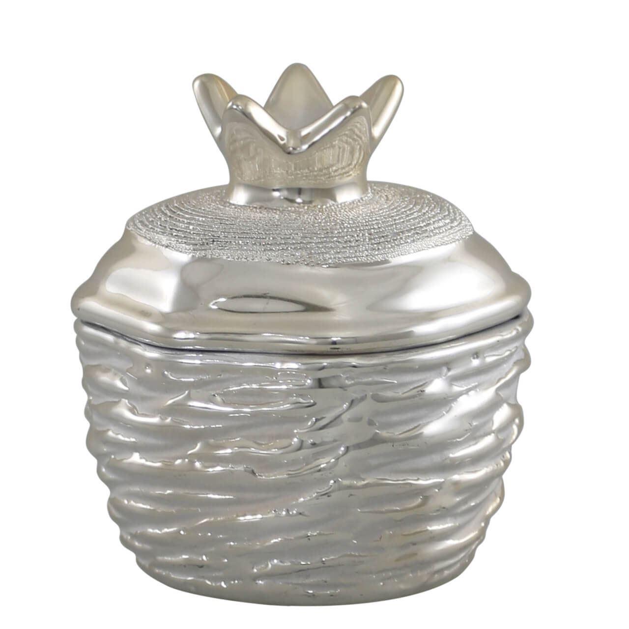 Small Champagne Pineapple Trinket Box
