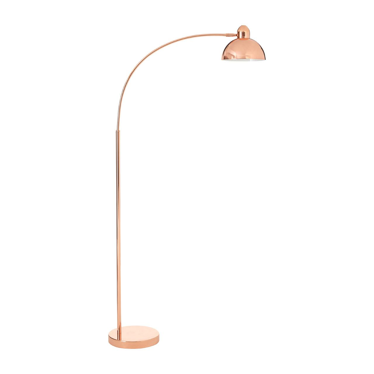 Calle Floor Lamp, Copper