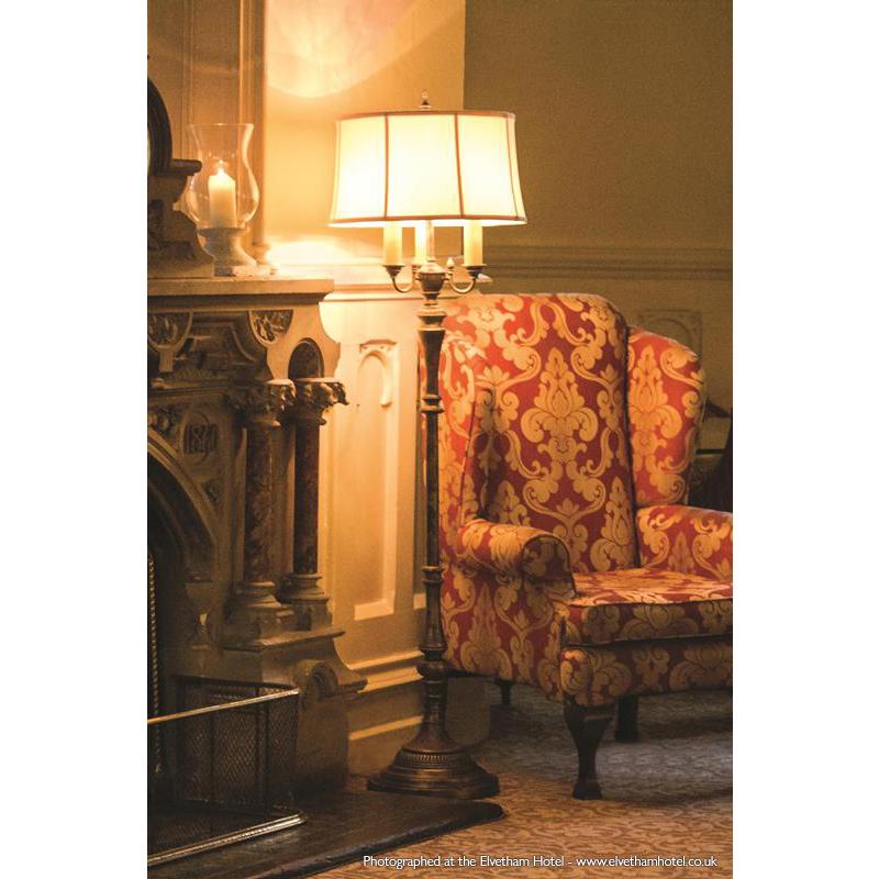Gibson 4 Light Floor Lamp